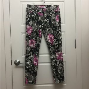 Floral Candie's Jeans